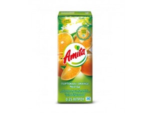 Amita πορτοκαλι 250ml