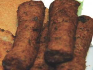 ΣΑΝΤΟΥΪΤΣ Νηστισιμα σουτζουκακια σογιας